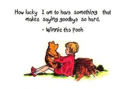 winnie the pooh goodbye
